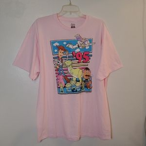 '95 Toy Story Gang Pink Disney Pixar T-shirt XL